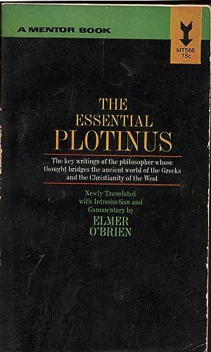 The Essential Plotinus: Plotinus; Elmer O'Brien