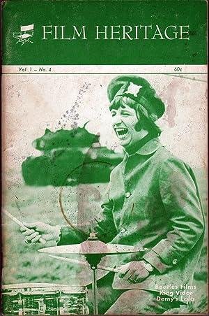 Film Heritage Vol 1 No 4: Macklin, F. Anthony, Ed.