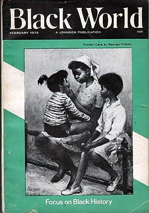 Black World Vol XXII No 4: Johnson, John H., Ed.