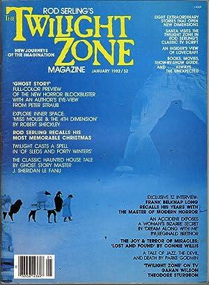 The Twilight Zone January 1982: Klein, T.E.D., Ed.