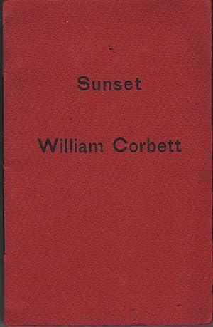 Sunset: Corbett, William