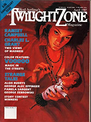 The Twilight Zone April 1987: King, Tappan, Ed