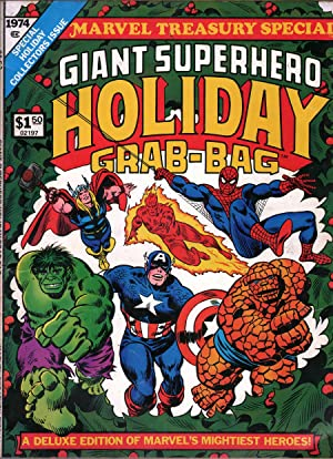 Giant Superhero Holiday Grab-Bag Marvel Treasury Special