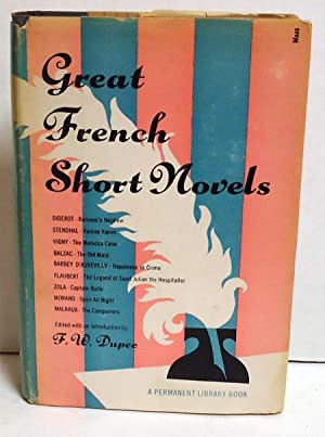 Great French Short Novels: Dupee, F.W., Ed.