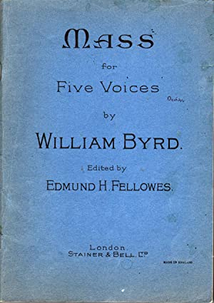 Mass for Five Voices: Byrd, William
