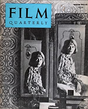 Film Quarterly Vol XXVI No 2: Ernest Callenbach, Ed.