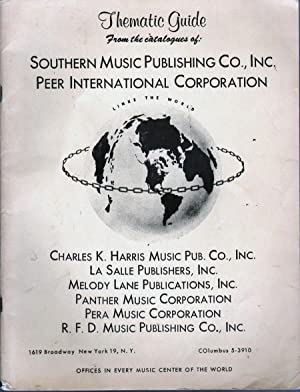 Thematic Guide: Southern Music Publishing Co.