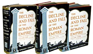 The Decline and Fall of the Roman Empire 3 Vol Complete: Gibbon, Edward