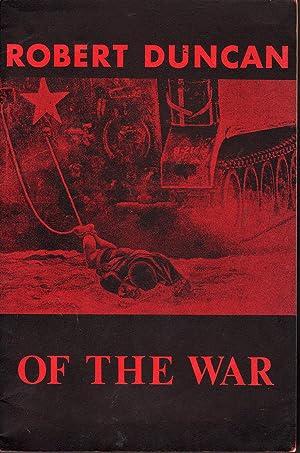 Passages 22-27 of The War: Duncan, Robert