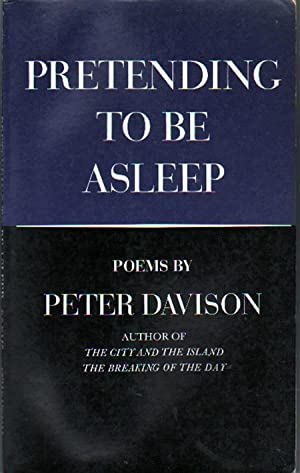 Pretending to Be Asleep: Davison, Peter