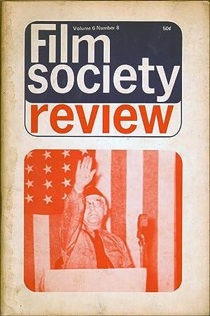 Film Society Review Vol 6 No 8: Starr, William A., Ed.