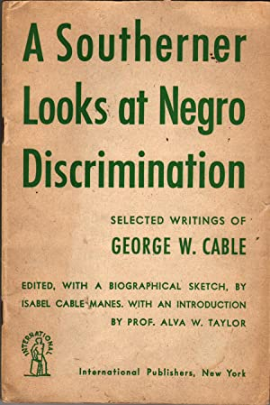 A Southerner Looks at Negro Discrimination