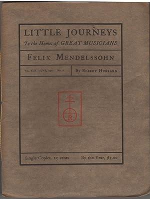Little Journeys to the Homes of Great Musicians, Vol VIII No 6: Hubbard, Elbert