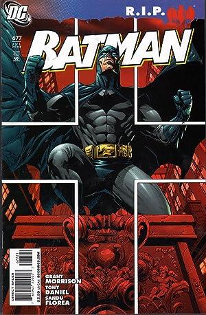 Batman 677: Morrison, Grant et al