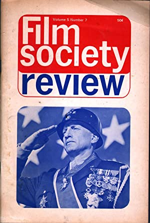 Film Society Review Vol 5 No 7: Starr, William A., ed