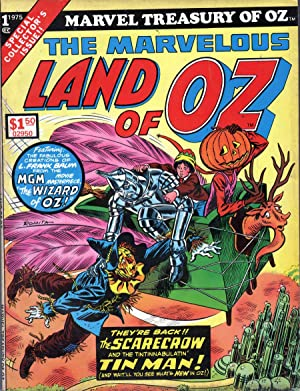 Marvel Treasury of Oz: The Marvelous Land of Oz No 1