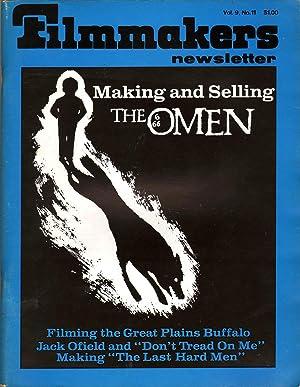 Filmmakers Newsletter Vol 9 No 11: Mallow, Suni, Ed.