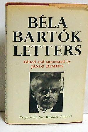 Bela Bartok Letters: Bartok, Bela; Janos