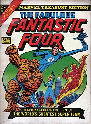 The Fabulous Fantastic Four Marvel Treasury Edition: Lee, Stan; Kirby, Jack, et al