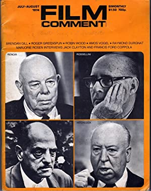 Film Comment Vol 10 No 4: Corliss, Richard, Ed.