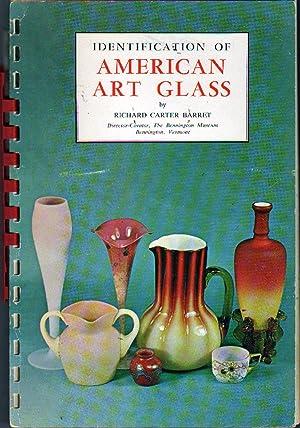 Identification of American Art Glass: Barret, Richard Carter