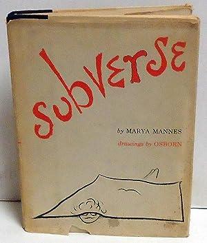 Subverse: Mannes, Marya; Robert Osborn
