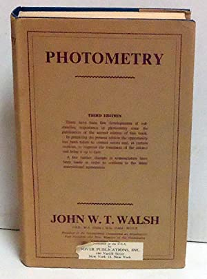 Photometry (Third Edition): Walsh, John W.T.