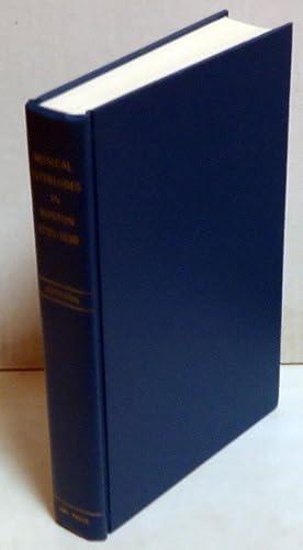 Musical Interludes in Boston 1795-1830: Johnson, H. Earle