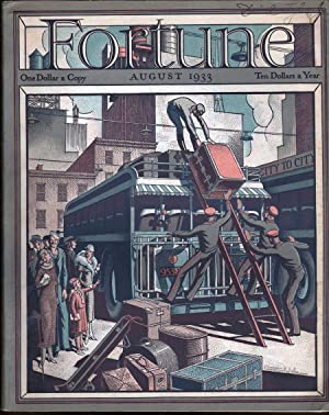 Fortune Magazine August 1933: Luce, Henry R., Ed