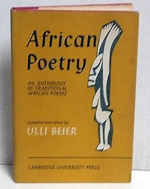 African Poetry: Beier, Ulli, Ed.