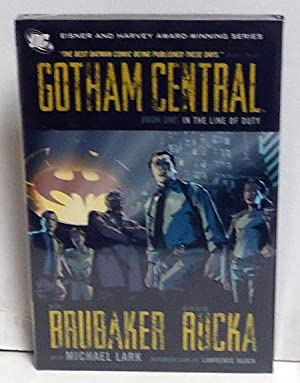 Gotham Central, Book One: In the Line of Duty: Ed Brubaker; Greg Rucka