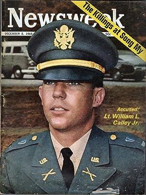 Newsweek December 8, 1969: Elliott, Osborn, Editor-in-Chief