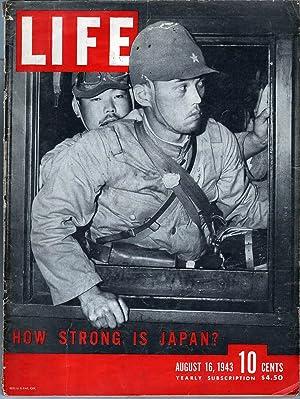Life Magazine August 16, 1943: Luce, Henry R., Ed.