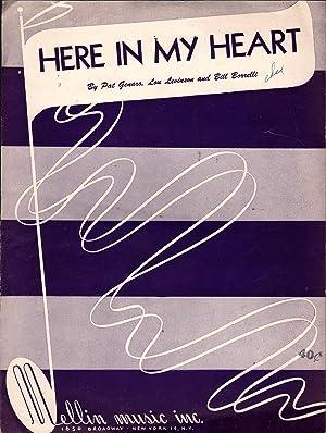 Here in My Heart: Genaro, Pat, Lou Levinson and Bill Borrelli