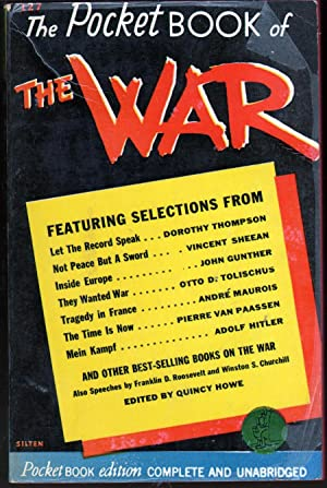 The Pocket Book of the War: Howe, Quincy, ed.