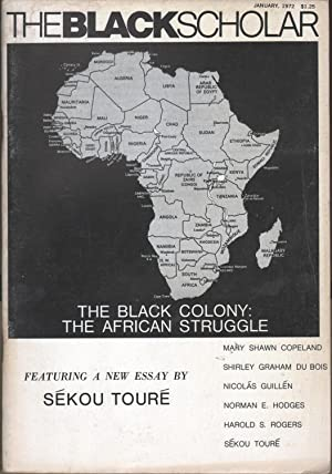 The Black Scholar Vol 3 No 5: Chrisman, Robert, ed