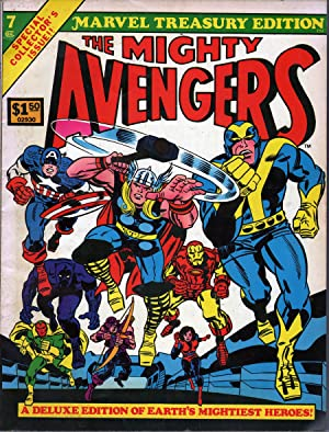 The Mighty Avengers: Thomas, Roy, (script) and John Buscema (artist)