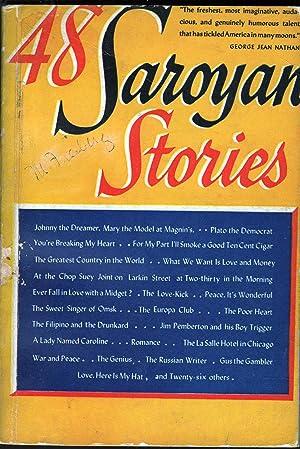48 Saroyan Stories: Saroyan, William
