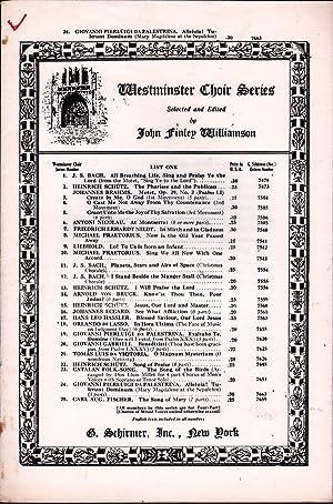 Alleluia! Tulerunt Dominum: Palestrina, G. Pierluigi Da