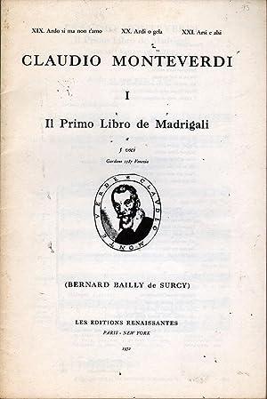 Il Primo Libro De Madrigali Nos 7: Monteverdi, Claudio