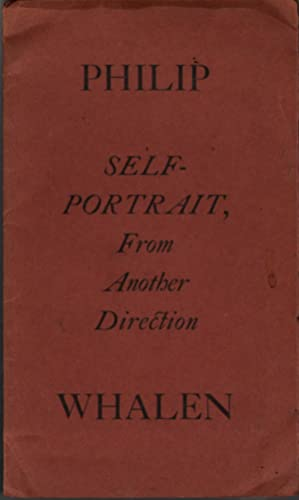 Self-Portrait From Another Direction: Whalen, Philip