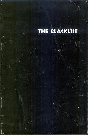 The Black List: Harris, Helen Y. Et al, Eds.