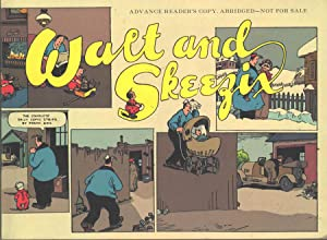 Walt and Skeezix: The Lost Newpaper Dailies Book1