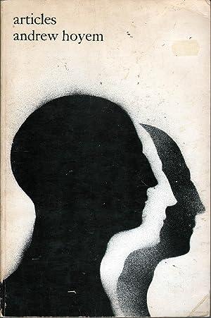 Articles: Poems 1960-1967: Hoyem, Andrew