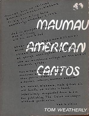 Maumau American Cantos: Weatherly, Tom
