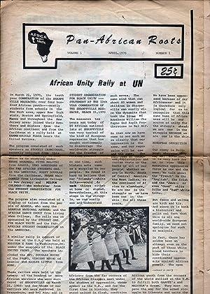 Pan-African Roots Vol 1 No 1: Brown, Robert, Ed.