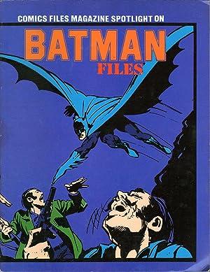 Comics Files Magazine Spotlight on Batman Files: Schuster, Hal, Ed.