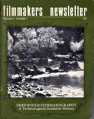 Filmmakers Newsletter Vol 4 No 7: Mallow, Suni, Ed.