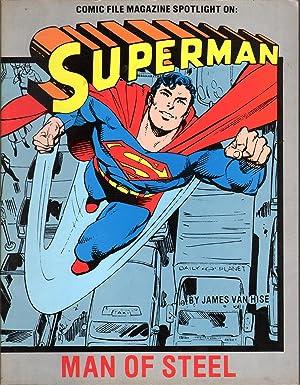 Comic File Magazine Spotlight on Superman: Van Hise, James