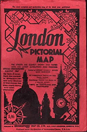 London Pictorial Map: Gross, Alexander, F.R.G.S.
